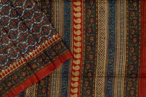 Weavers studio tussar silk saree PSWS140015