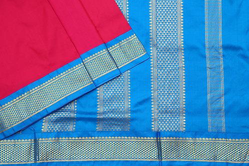 Tharakaram nine and a half yards silk saree PSTK040126
