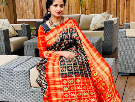 "Customer Tales - ""Satisfying her love for sarees"""