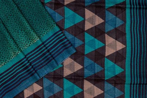 Weavers studio tussar silk saree PSWS140020