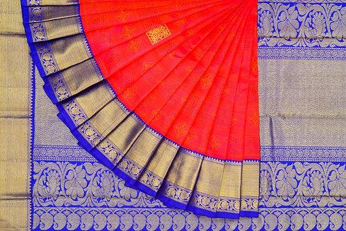 Kanjivaram silk saree SS1581