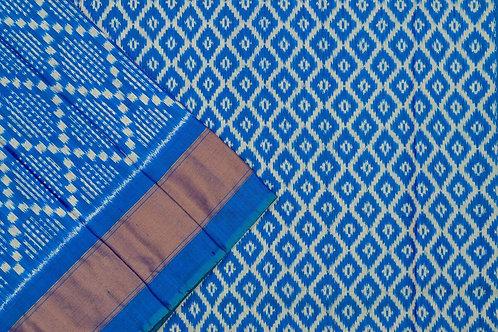 Indo fabric pochampalli silk saree PSIF060049