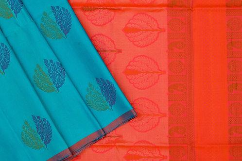 Kamal vasthralaya Soft silk saree PSKV070019
