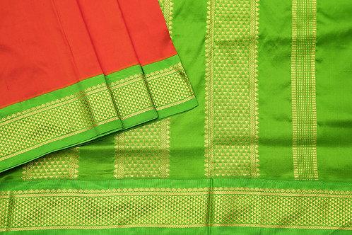 Tharakaram nine and a half yards silk saree PSTK040128