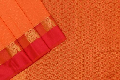 Blended silk saree SS2196