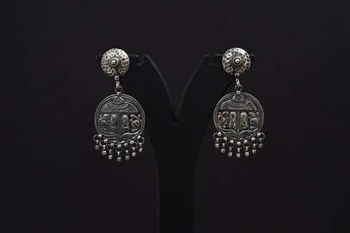 Alankrita Silver Earrings PSAL1004A
