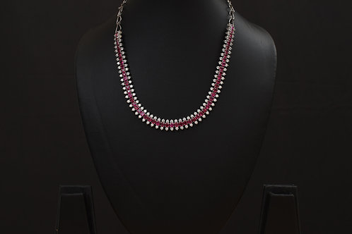 Lasya Necklace with Zircon stones LA0041