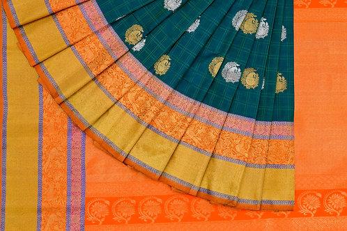 Bridal Kanjivaram silk saree SS936