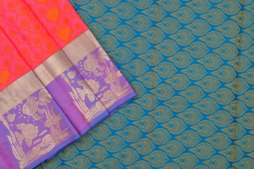 Amrith weaves creation soft silk saree PSAC090026