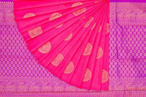 Kanjivaram silk saree SS1580