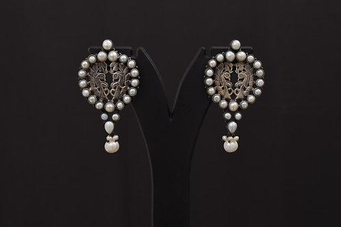 Lasya Silver Earrings LA0019