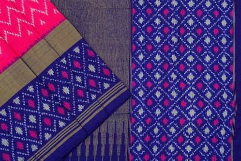 Indo fabric pochampalli silk saree PSIF060042