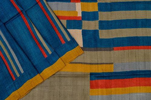 Weavers studio tussar silk saree PSWS140018