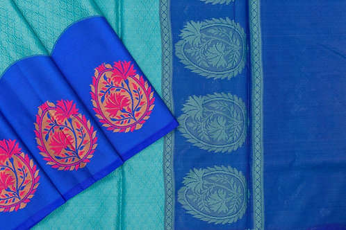 Blended cotton saree SS2155