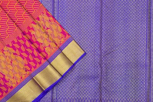 Kanjivaram silk saree SS1665