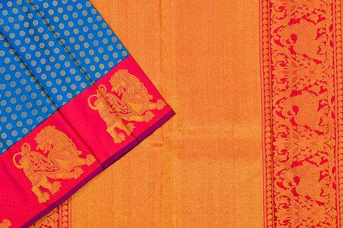 Bridal Kanjivaram silk saree SS1736