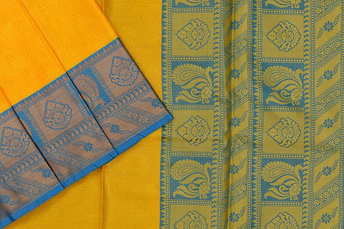 Blended cotton saree SS2178