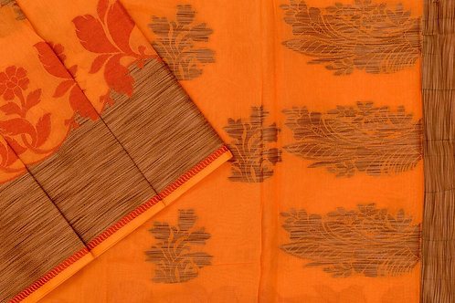 Blended cotton saree SS2182