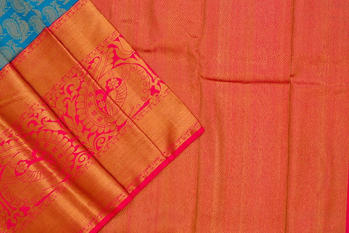 Bridal Kanjivaram silk saree SS1879