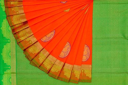 Kanjivaram silk saree SS1121