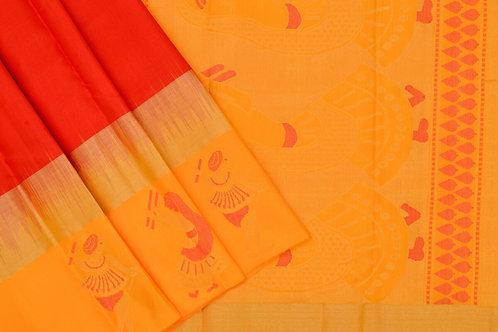 Amrith weaves creation soft silk saree PSAC090019