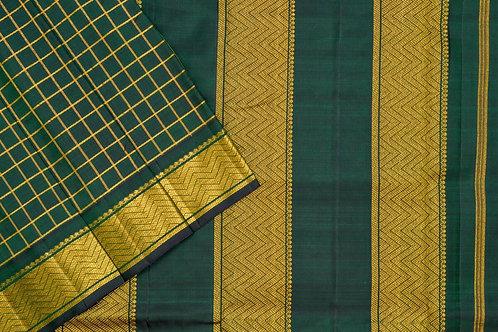 Nine yards silk saree SS1847