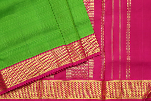Tharakaram nine and a half yards silk saree PSTK040142