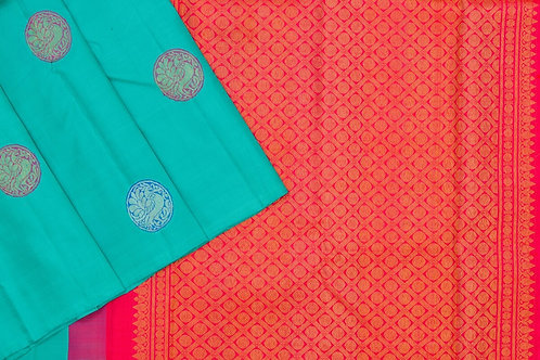 Kanjivaram silk saree SS1872