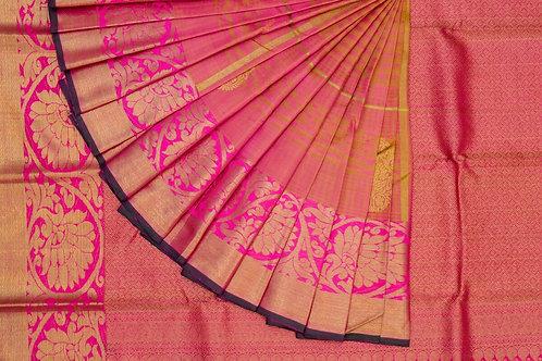 Bridal Kanjivaram silk saree SS1597