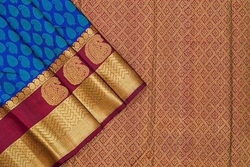 Kanjivaram silk saree SS1738