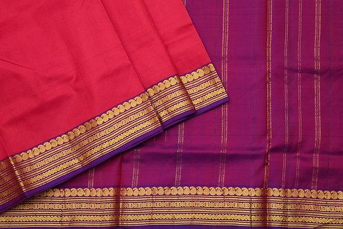 Tharakaram nine and a half yards silk saree PSTK040123