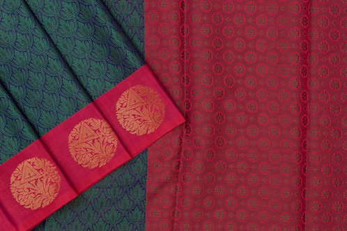 Blended cotton saree SS2175