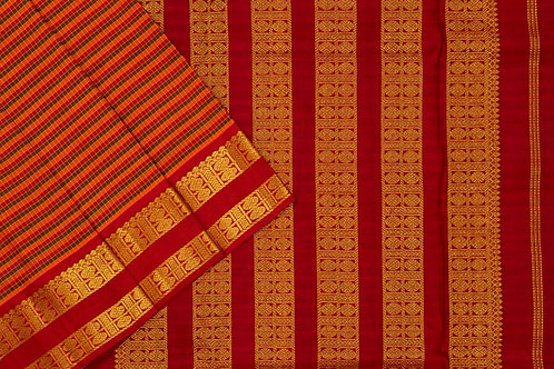 Shreenivas silks nine and a half yards silk saree PSSR011795