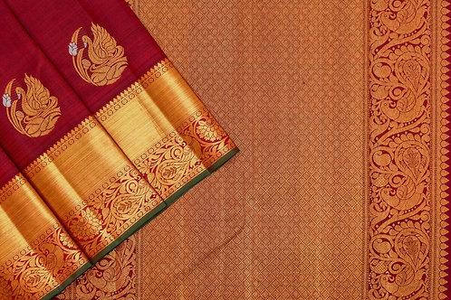 Kanjivaram silk saree SS2082