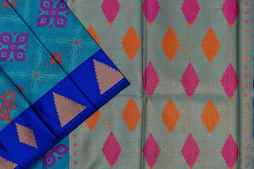 Blended cotton saree SS2173