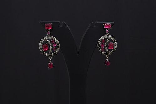 Lasya Silver Earrings LA0017