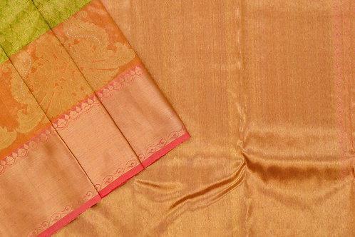 Bridal Kanjivaram silk saree SS1739
