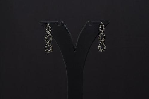 Lasya Silver Earrings PSLA180026