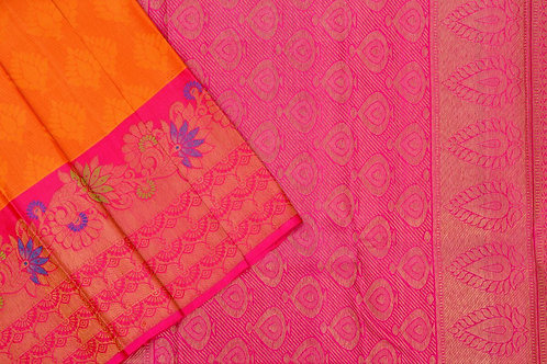 Kanjivaram silk saree SS1727
