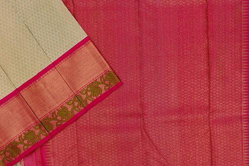 Kanjivaram silk saree SS1953