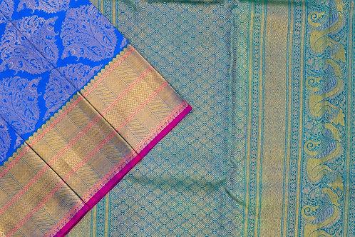 Bridal Kanjivaram silk saree SS1883