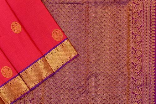Kanjivaram silk saree SS2121