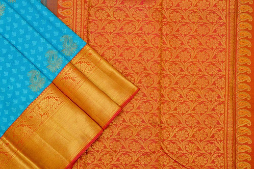 Kanjivaram silk saree SS1673
