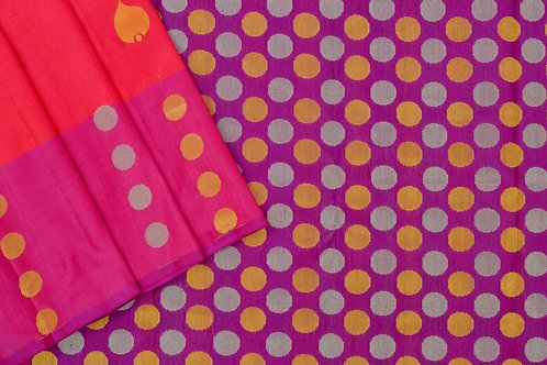 Amrith weaves creation soft silk saree PSAC090004