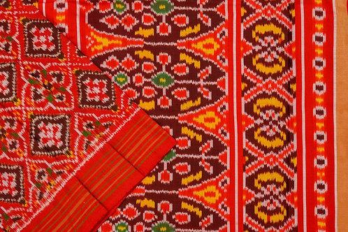 Indo fabric pochampalli silk saree PSIF060048