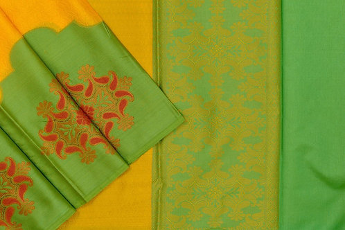 Blended cotton saree SS2144