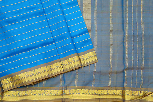 Tharakaram nine and a half yards silk saree PSTK040111