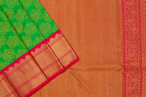 Bridal Kanjivaram silk saree SS1724