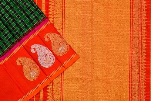 Sita mahalakshmi kanjivaram silk saree PSSM05LRAM200757