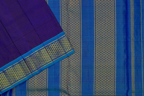 Nine yards silk saree SS1899